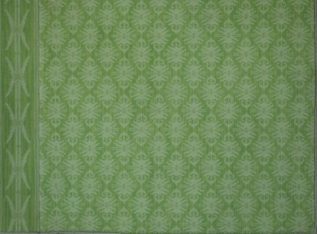 hand tufted green carpet
